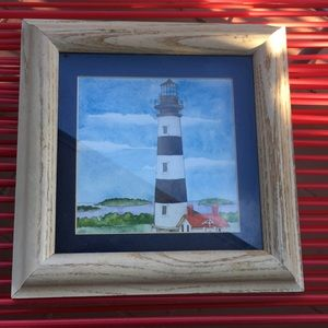 PRE- LOVED  WOODEN FRAMED 🖼 WATCH TOWER